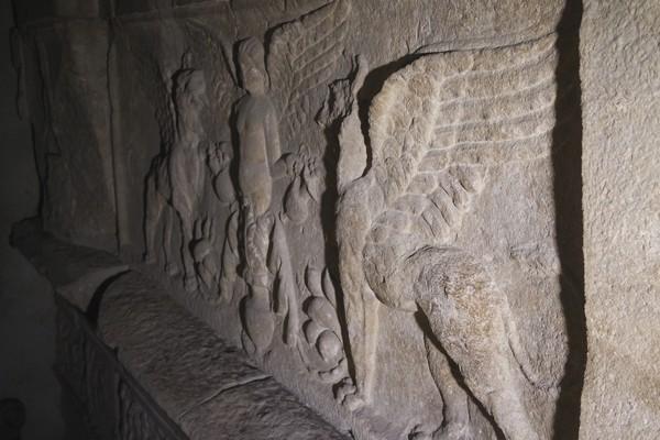 trieste vestiges romains propylée cathédrale san giusto