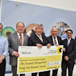 Manchester Royal Eye Hospital has received a £125,000 donation from the Freemasons