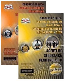 Apostila Concurso Agepen Agente Penitenciário MG - SEDS-MG