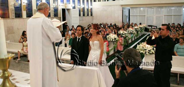 fotos casamento igreja santo ivo