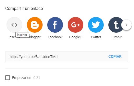 Insertar vídeo de YouTube de manera responsive
