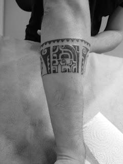 Toop Tattoo Tatuaje Brazalete Maori En Freehand Alicante Tatuaje