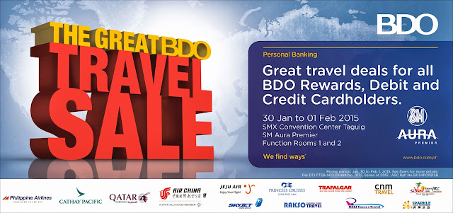 The Great BDO Travel Sale 2015 Philippines