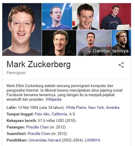 19 Fakta Menarik Mark Zuckerberg Seorang Pendiri Facebook