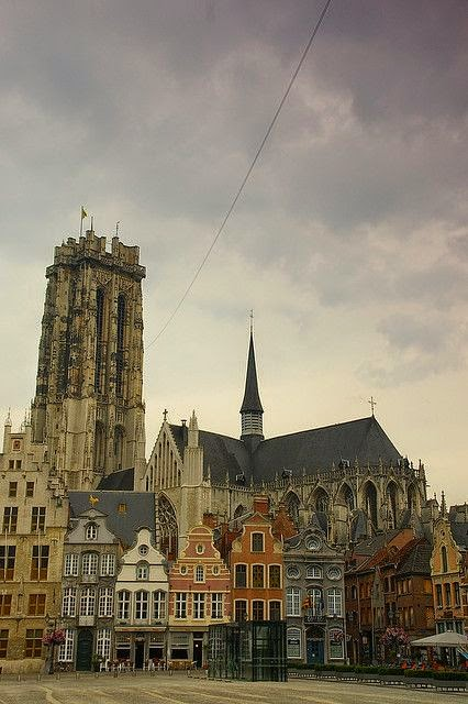 10 Best Places to Holiday in Belgium (100+ Photos) | Cathedral of Mechelen, Belgium