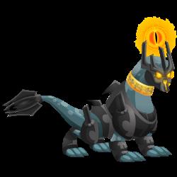 Dragon Seigneur des Ténèbres apparence jeune