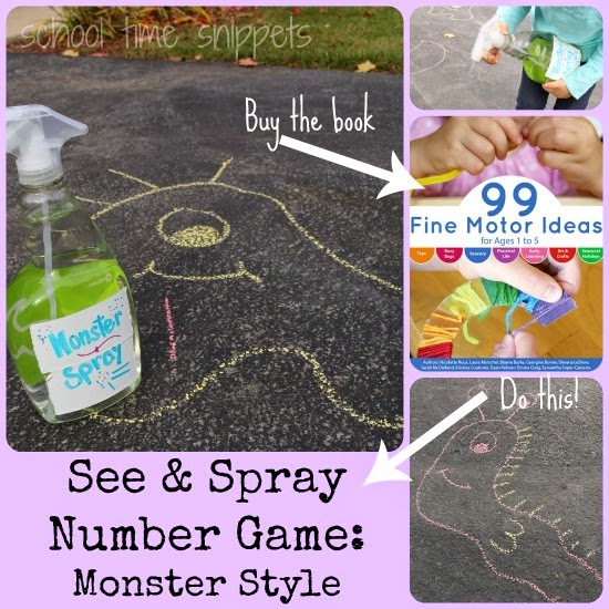 see and spray fine motor skills game