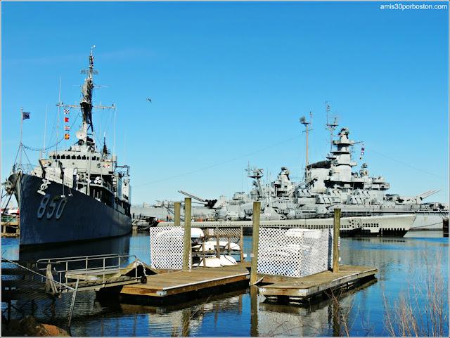 Battleship Cove, Museo Naval y Marítimo de Massachusetts