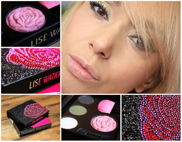 Отзыв: LISE WATIER Палетка для макияжа PALETTE GLAMOUR ROSE Eyes and Cheeks.