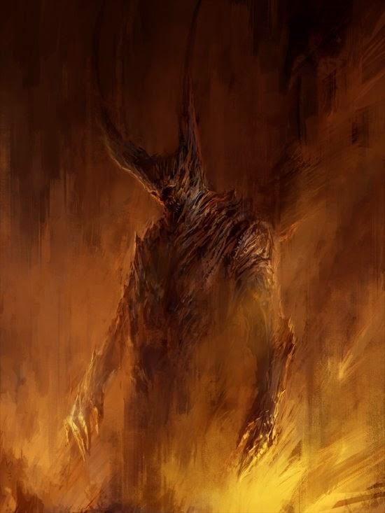 Chris Cold deviantart ilustrações fantasia ficção sombria terror