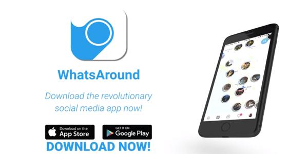 WhatsAround : Cara Mendapatkan 1 ETH Gratis dari Aplikasi WhatsAround