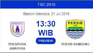 Kick-off Persipura vs Persib Bandung Berubah Jadi 13.30 WIB