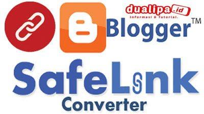Cara buat safelink di blog utama