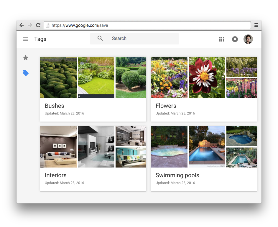 Google's Pinterest-Like Image Search Hits Desktop