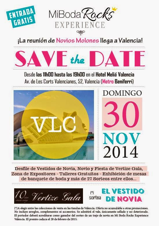 Mi Boda Rocks Experience Valencia 30 noviembre 2014