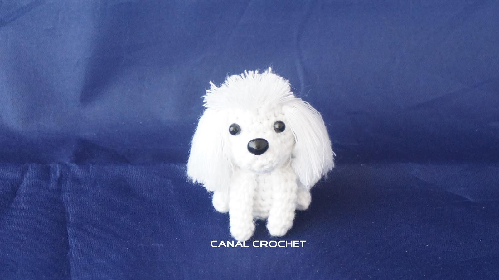 Amigurumi Lion Perritos : Canal crochet perritos amigurumi tutorial
