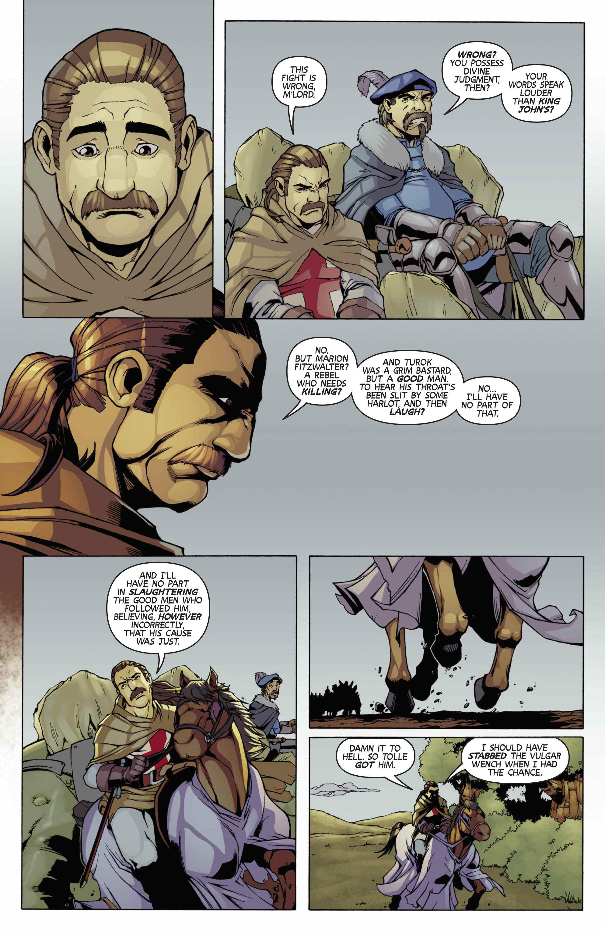 Read online Turok: Dinosaur Hunter (2014) comic -  Issue # _TPB 3 - 77