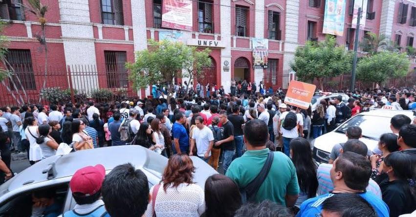 UNFV: Policía detiene a 11 falsos postulantes en examen de admisión a la Universidad Nacional Federico Villarreal