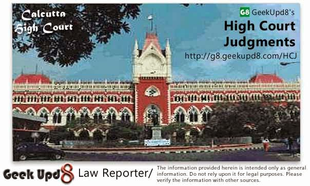 Calcutta High Court, West Bengal Judgments