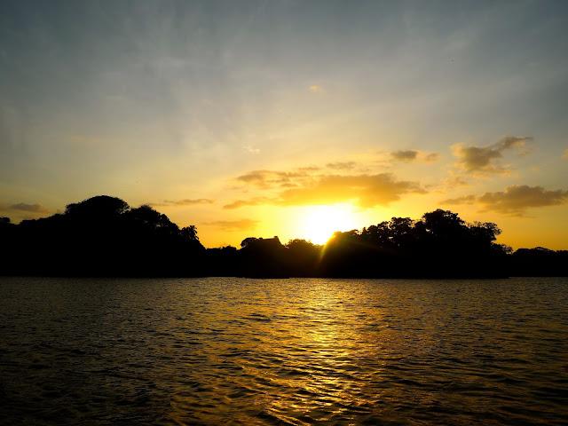 Sunset on Las Isletas, Granada, Nicaragua