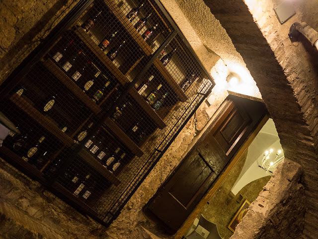 San Gimignano wine cellar