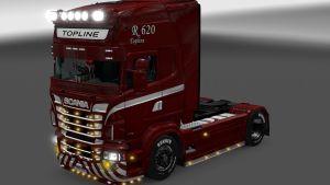 Heavy Duty skin for Scania RJL
