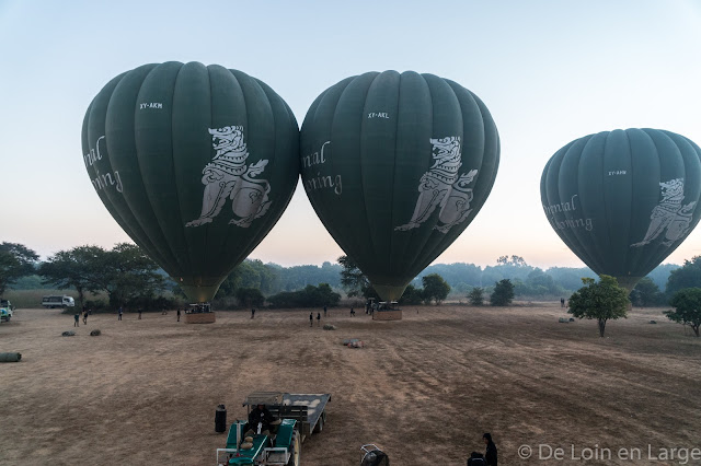 Oriental Ballooning - Bagan - Myanmar - Birmanie