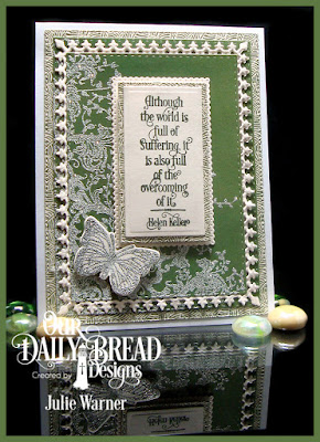 Our Daily Bread Designs Stamp Sets: Healing Prayers, Belles Vignes, Trois Joile Papillons, Our Daily Bread Designs Custom Dies Flourished Star Pattern, Rectangles, Double Stitched Rectangles, Trois Papillons, Lavish Layers, Filigree Frames, Our Daily Bread Designs Paper Collections: Beautiful Boho, Boho Bolds