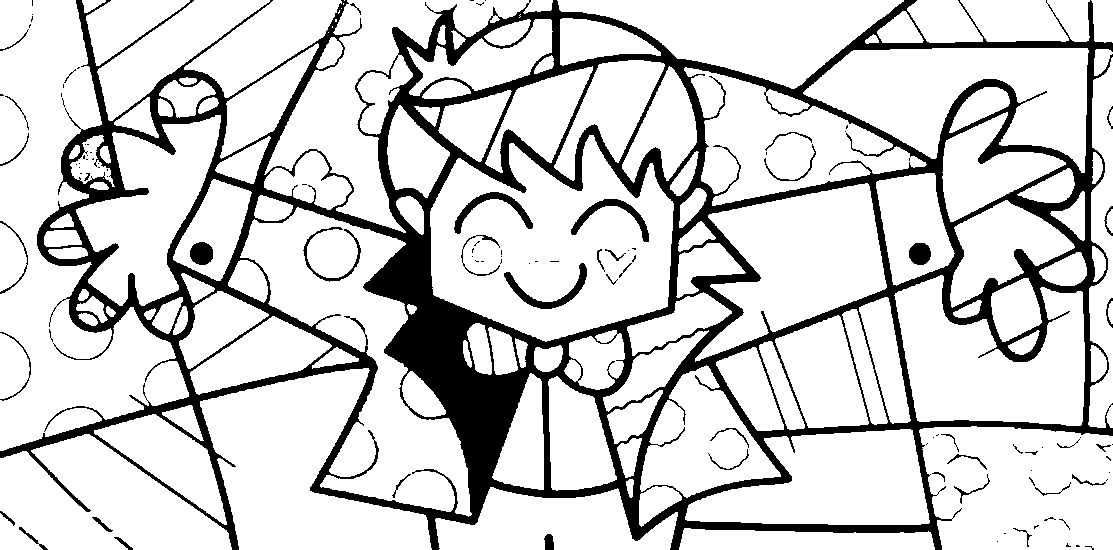 britto coloring pages - photo#13