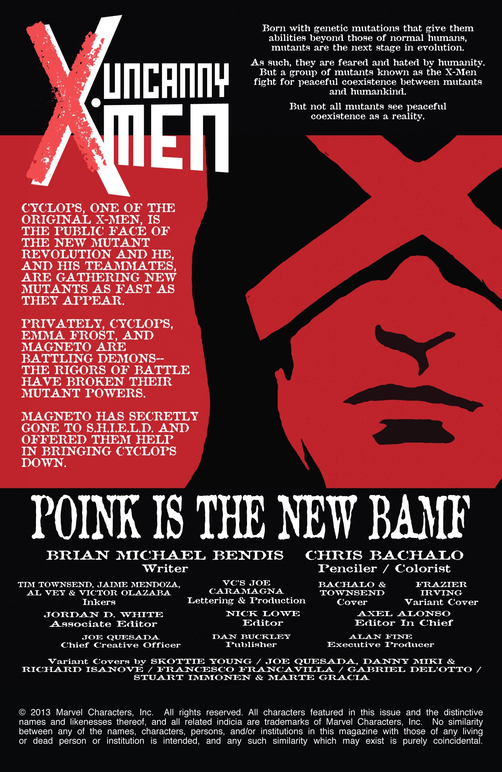 Read online Uncanny X-Men (2013) comic -  Issue #2 - 2