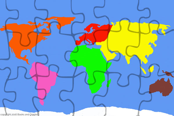 3 free puzzles to make learning the continents fun the puzzle with the smaller pieces will take some patience to cut out the one with the larger pieces isnt that bad gumiabroncs Image collections