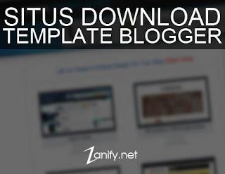Kumpulan Situs Download Template Blogger Keren