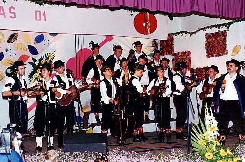 La música bećarac es un género artístico popular del este de Croacia