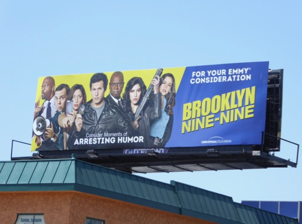 Brooklyn Nine-Nine season 4 Emmy FYC billboard