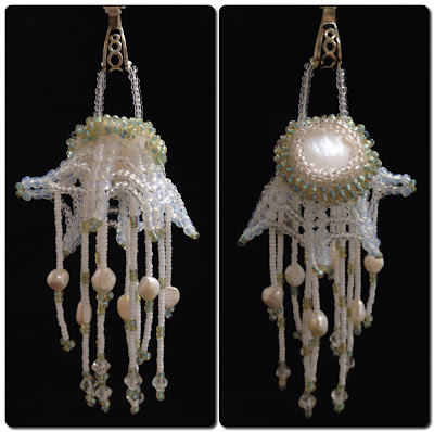 Jellyfish pendant by Jennifer Porter