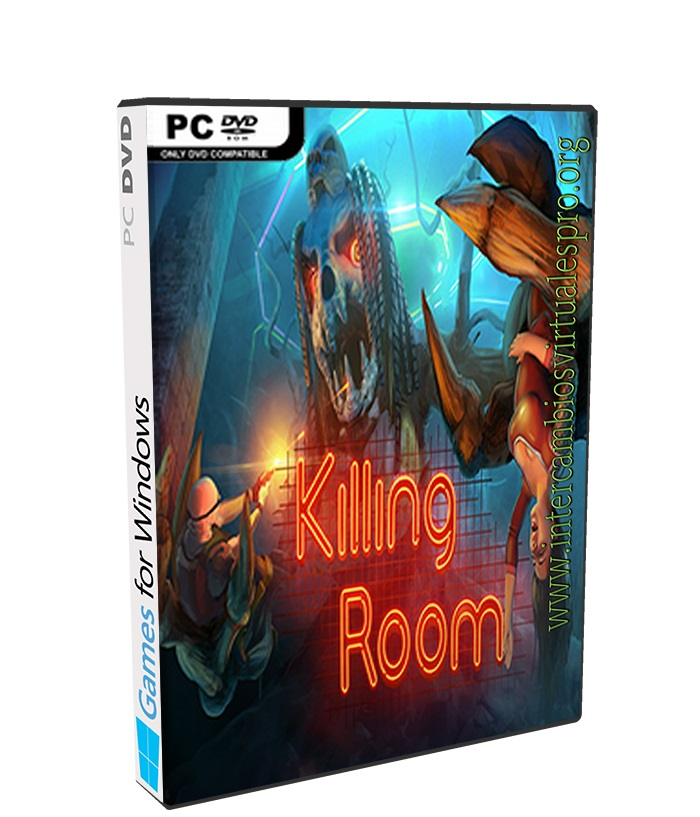 Killing Room poster box cover