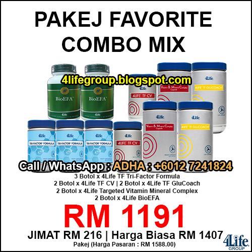 foto Pakej Favorite 5 - 4Life Malaysia