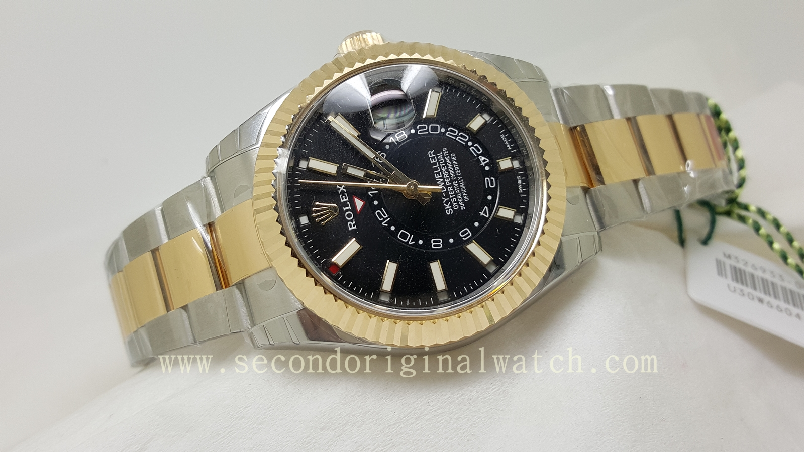 Jual Jam Rolex Gold Original Welcome To Tangan Pria Expedition 6631 Black Yellow Triple Time Case Steel With Bezel Dial Movement Automatic Strap Deployment Buckle Size 42mm