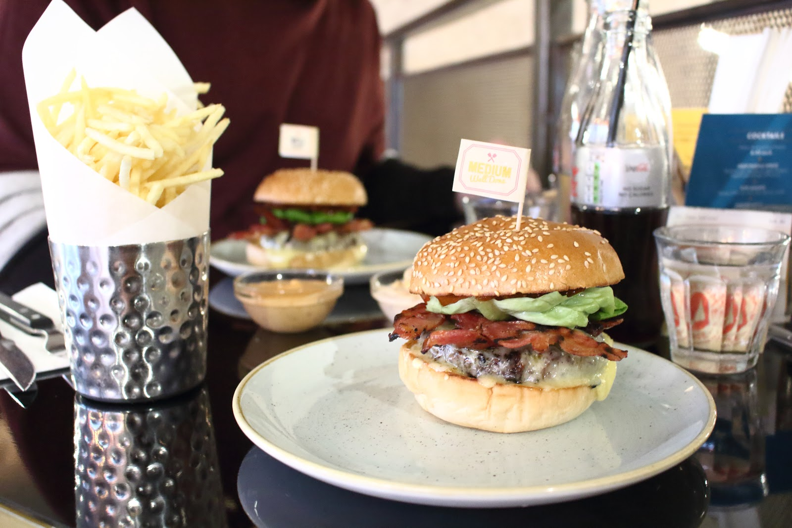 GBK, Leicester, Burger, Highcross, Restaurant, Review