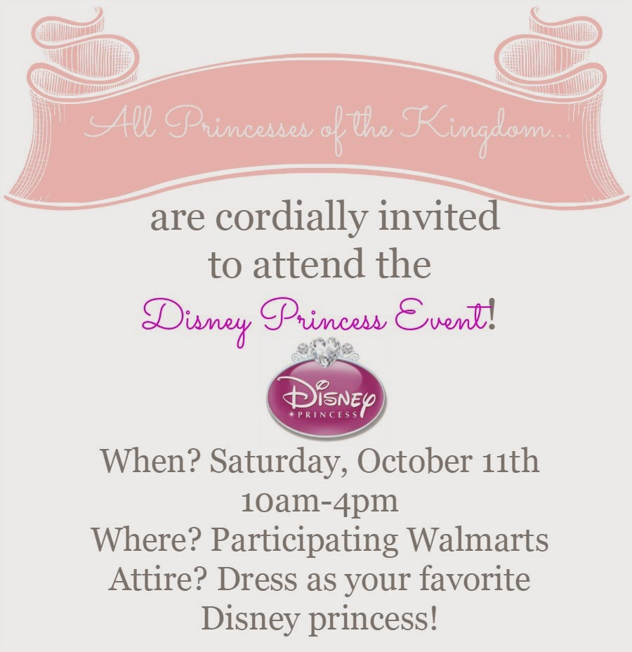 All Princesses are Invited to Attend the Disney Princess Event on 10/11! Get full details at thefrugalfoodiemama.com #DisneyBeauties #shop