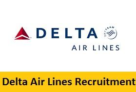 Delta Air Lines Recruitment 2017-2018
