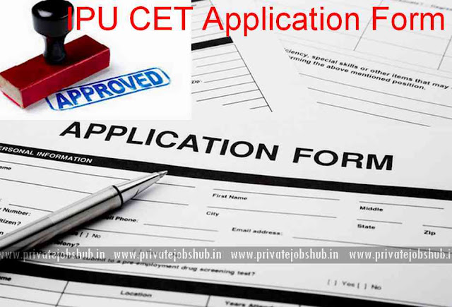 IPU CET Application Form