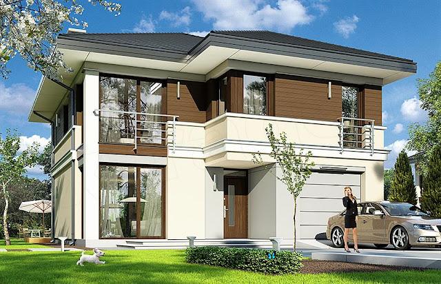 Idealny projekt domu jednorodzinnego, oraz co bym zmieniła w naszym domu.