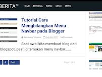 Cara Mengatasi Postingan Hanya Tampil Satu Atau Dua Artikel Di Homepage