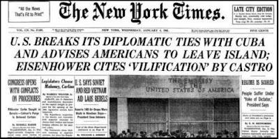 EEUU rompió relaciones con Cuba