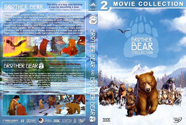 Brother Bear Collection DVD Cover