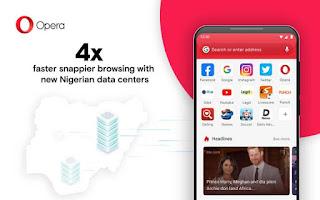 Opera fast browsing