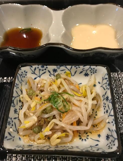 Yokohama Teppanyaki, Glen Waverley, beanshoots
