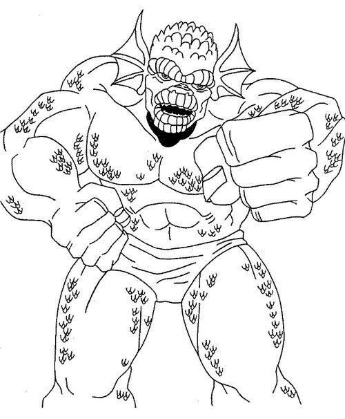 incredible hulk coloring pages - photo#36