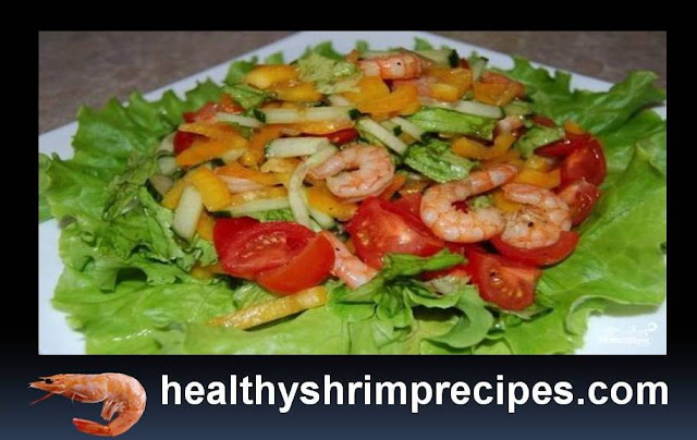 Healthy And Delicious Low Calorie Shrimp Salad